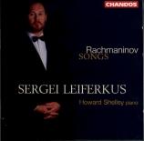 RACHMANINOV - Leiferkus - Mélodies