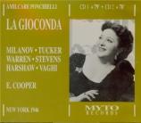 PONCHIELLI - Cooper - La Gioconda (Live, Met 16 - 03 - 1946) Live, Met 16 - 03 - 1946