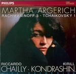 RACHMANINOV - Argerich - Concerto pour piano n°3 en ré mineur op.30