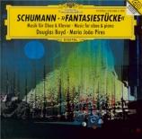 SCHUMANN - Boyd - Trois romances op.94 : version pour hautbois et piano