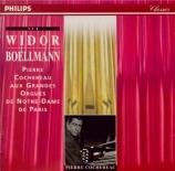 WIDOR - Cochereau - Symphonie pour orgue n°9 op.70 'Gothique'