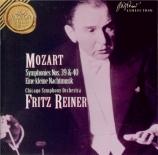 MOZART - Reiner - Symphonie n°39 en mi bémol majeur K.543