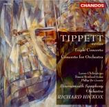 TIPPETT - Hickox - Triple concerto