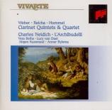 Clarinet Quintets & Quartet