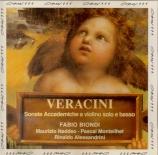VERACINI - Biondi - Sonate accademiche : extrait