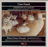 FRANCK - Munch - Symphonie pour orchestre enrémineur FWV.48