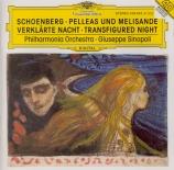 SCHOENBERG - Sinopoli - Pelleas und Melisande, poème symphonique pour or