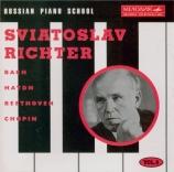 BACH - Richter - Concerto italien, pour clavier en fa majeur BWV.971