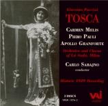PUCCINI - Sabajno - Tosca