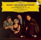 MOZART - Hagen Quartett - Sérénade n°13, pour orchestre en sol majeur K