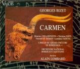 BIZET - Lombard - Carmen, opéra comique WD.31