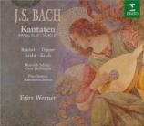 BACH - Werner - Die Himmel erzählen die Ehre Gottes, cantate pour solist