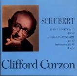 SCHUBERT - Curzon - Sonate pour piano en ré majeur op.53 D.850 'Gasteine