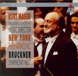 BRUCKNER - Masur - Symphonie n°7 en mi majeur WAB 107