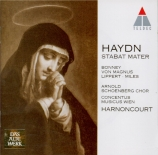 HAYDN - Harnoncourt - Stabat Mater, pour quatre solistes, chœur mixte, o version 1767