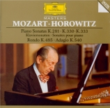 MOZART - Horowitz - Sonate pour piano n°3 en si bémol majeur K.281 (K6.1