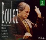 Boulez conducts