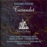 PUCCINI - Ghione - Turandot (Turin, 1937) Turin, 1937