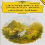 SCHUMANN - Schmidt - Zwölf Gedichte von Justinus Kerner, cycle de douze