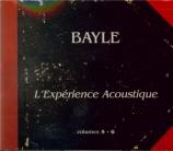 L'expérience acoustique Vol.5 & 6