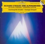 STRAUSS - Sinopoli - Eine Alpensinfonie, pour grand orchestre op.64