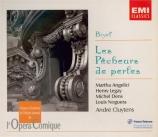 BIZET - Cluytens - Les pêcheurs de perles, opéra WD.13