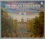 HAENDEL - Preston - Six concertos pour orgue op.4 HWV.289-294