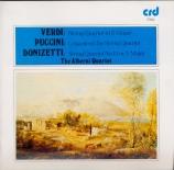 VERDI - Alberni Quartet - Quatuor à cordes