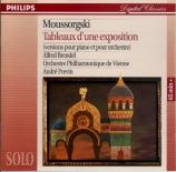 MOUSSORGSKY - Brendel - Tableaux d'une exposition, pour piano