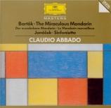 BARTOK - Abbado - Le mandarin merveilleux, pantomime pour choeur et orche