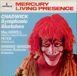CHADWICK - Hanson - Esquisses symphoniques
