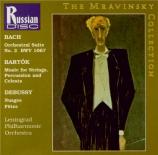BARTOK - Mravinsky - Musique pour cordes, percussions et celesta Sz.106