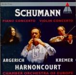 SCHUMANN - Argerich - Concerto pour piano et orchestre en la mineur op.5