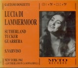 DONIZETTI - Varviso - Lucia di Lammermoor (live MET 9 - 12 - 61) live MET 9 - 12 - 61