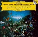 MENDELSSOHN-BARTHOLDY - Ozawa - Ein Sommernachtstraum (Le songe d'une nu