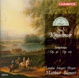 KROMMER - Bamert - Symphonie en ré majeur op.40