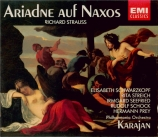 STRAUSS - Karajan - Ariadne auf Naxos (Ariane à Naxos), opéra op.60