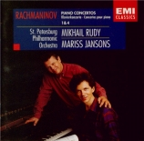 RACHMANINOV - Jansons - Concerto pour piano n°1 en fa dièse mineur op.1
