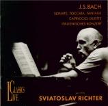 BACH - Richter - Sonate pour clavier en ré majeur BWV.963
