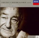 SCHUMANN - Cherkassky - Carnaval, scènes mignonnes sur quatre notes pour Live  -  vol.6