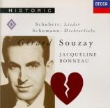 SCHUMANN - Souzay - Dichterliebe (Les amours du poète) (Heine), cycle de