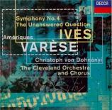 IVES - Dohnanyi - Symphonie n°4
