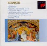 SCHUBERT - Weil - Messe n°5 en la bémol majeur, pour solistes, choeur, or