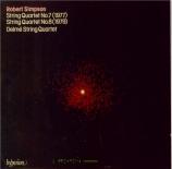 SIMPSON - Delmé String Qu - Quatuor à cordes n°7