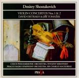 CHOSTAKOVITCH - Oistrakh - Concerto pour violon et orchestre n°1 en la m