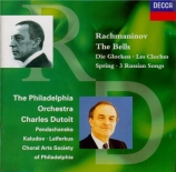 RACHMANINOV - Dutoit - Les cloches (Balmont), pour chœur et orchestre op