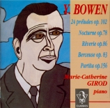 BOWEN - Girod - Vingt-quatre preludes op.102