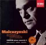 CHOPIN - Malcuzynski - Concerto pour piano et orchestre n°2 en fa mineur