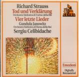 STRAUSS - Celibidache - Tod und Verklärung (Mort et transfiguration), po