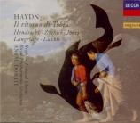 HAYDN - Dorati - Il ritorno di Tobia, oratorio pour solistes, chœur mixt